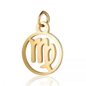 pendentif signe astrologique vierge