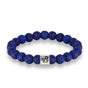 bracelet signe astrologique capricorne bleu