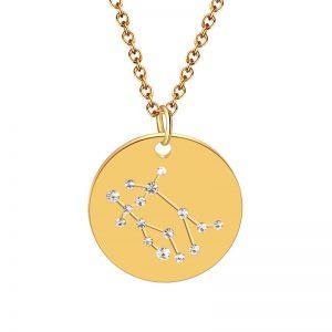 collier constellation gémeaux zodiaque