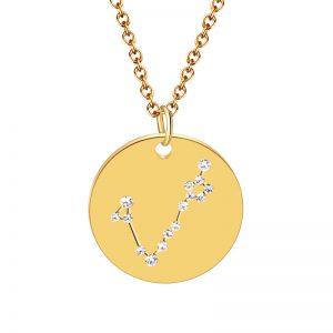 collier constellation poisson zodiaque