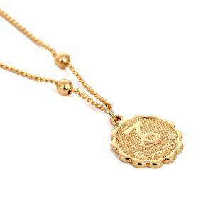 collier signe astrologique capricorne bijoux femme