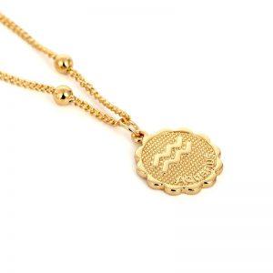 bijoux signe astrologique zodiaque verseau