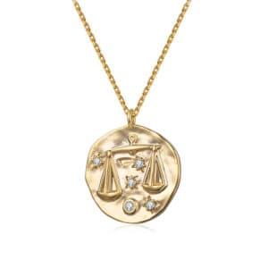 collier signe astrologique balance femme