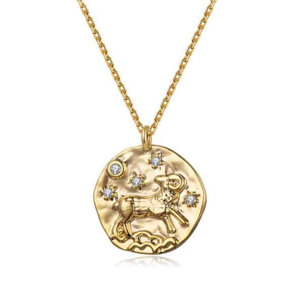 collier signe astrologique bélier femme