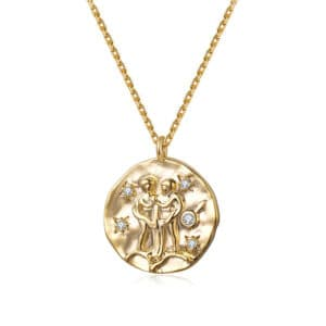 collier signe astrologique gemeaux