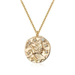 collier signe astrologique lion