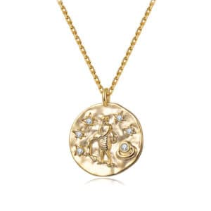 collier signe astrologique verseau femme