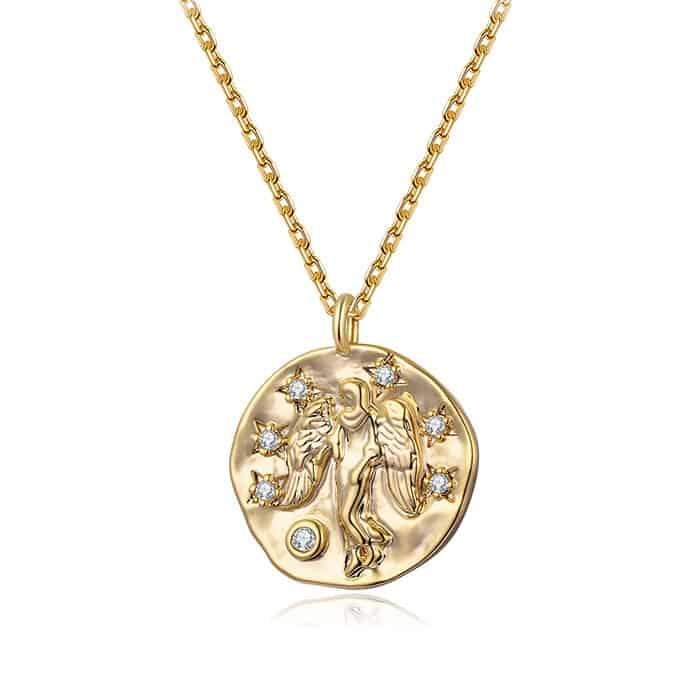 collier signe astrologique vierge