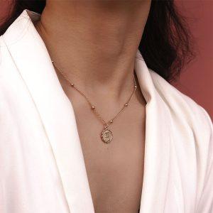 collier astrologique signe zodiaque femme