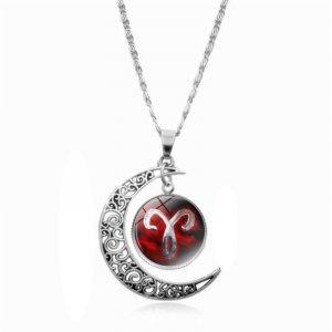 collier signe du zodiaque bélier