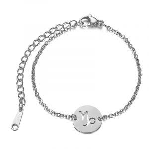 bracelet capricorne argent