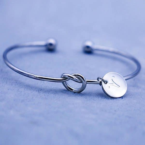 bracelet zodiaque taureau argent femme