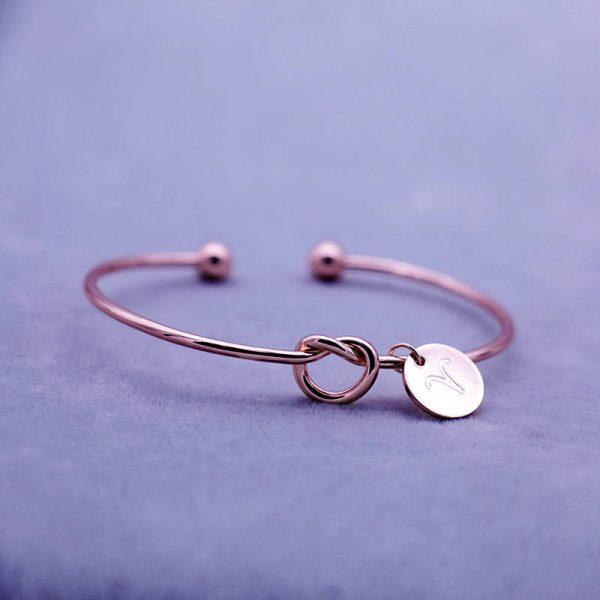 bracelet zodiaque taureau rose gold femme