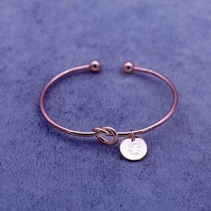bracelet zodiaque cancer rose gold femme