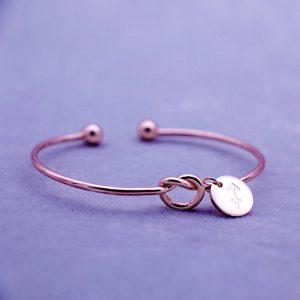 bracelet zodiaque sagittaire rose gold femme