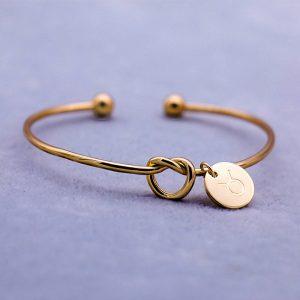 bracelet zodiaque taureau or femme