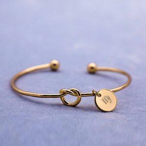 bracelet zodiaque vierge or femme