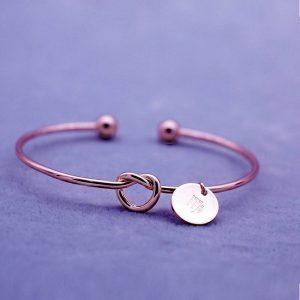 bracelet zodiaque vierge rose gold