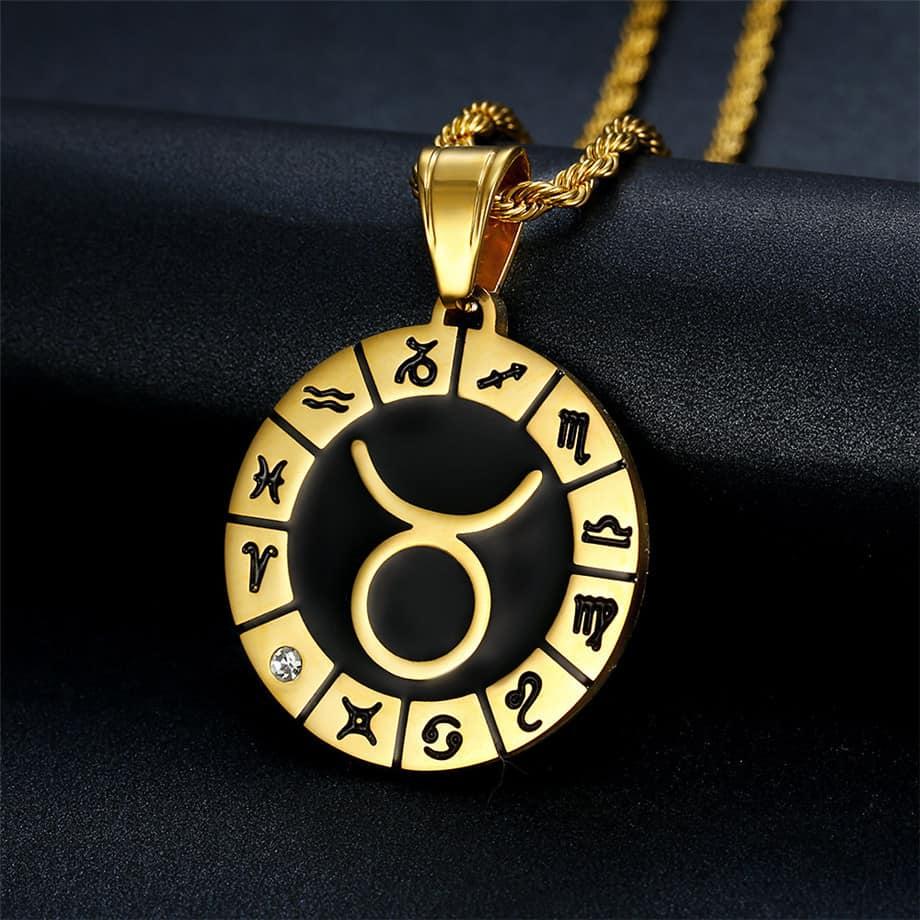 Médaille Zodiaque Taureau