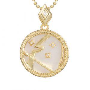 collier signe astro sagittaire femme