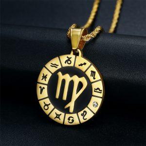 Médaille Zodiaque Vierge