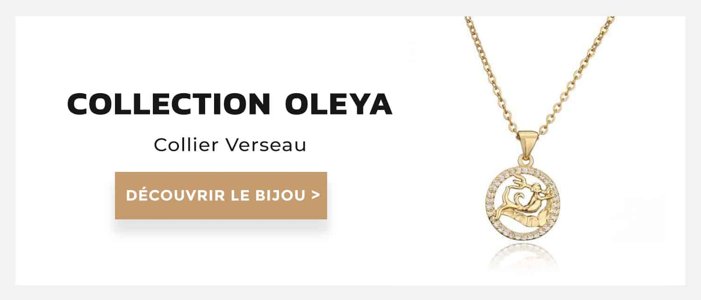 collier verseau collection oleya