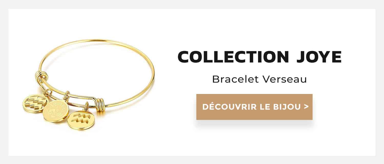 bracelet verseau collection joye