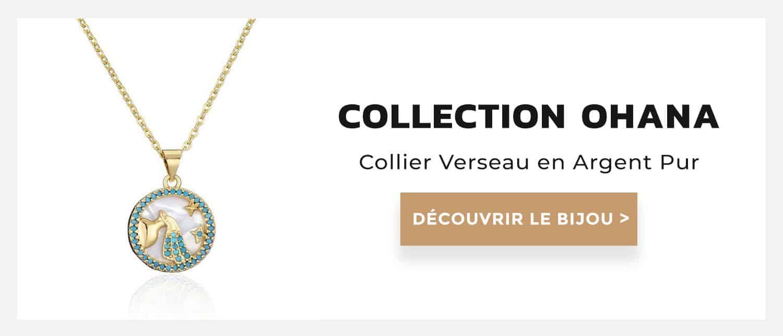 collier verseau collection ohana
