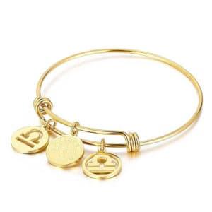bracelet balance signe astrologique