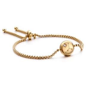 bracelet signe du zodiaque cancer