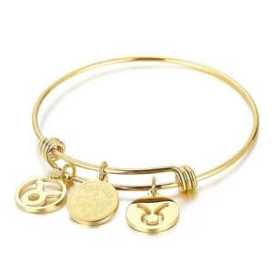bracelet taureau signe astrologique