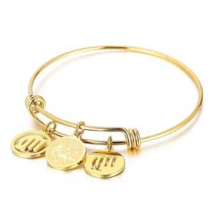 bracelet vierge signe astrologique