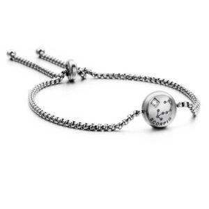 bracelet du zodiaque scorpion