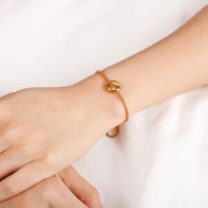 bracelet signe du zodiaque or femme