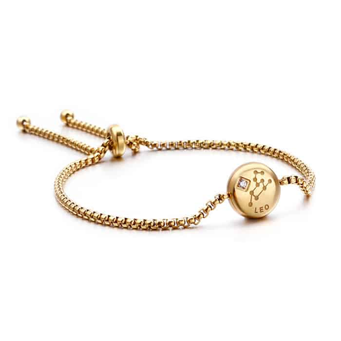 bracelet signe zodiaque lion