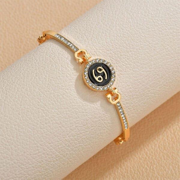 bracelet zodiaque femme cancer