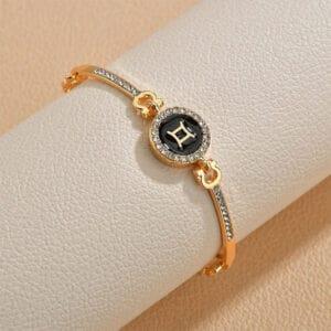 bracelet zodiaque femme gemeaux