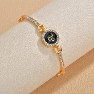 bracelet zodiaque femme lion
