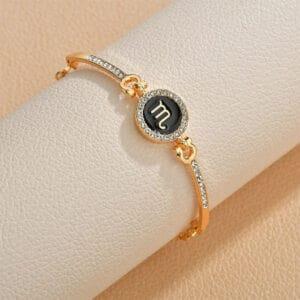 bracelet zodiaque femme scorpion