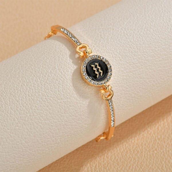 bracelet zodiaque femme verseau