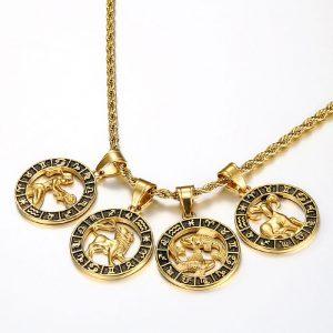 collier signe du zodiaque