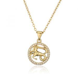 collier signe zodiaque belier