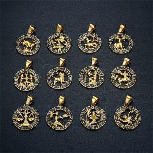 collier signe zodiaque or