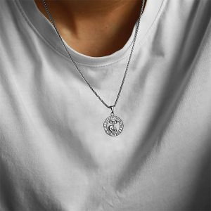 collier zodiaque homme
