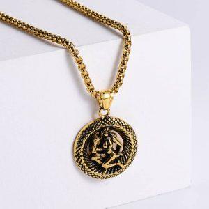 pendentif signe astrologique vierge or